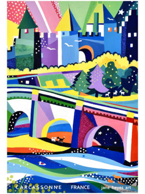 Jane Heyes Art Peintre Carcassonne Artist Winter A4 Type final copy