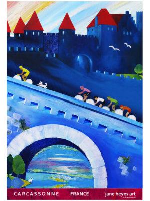 Jane Heyes Art Peintre Carcassonne Artist A4 TOUR final red border copy
