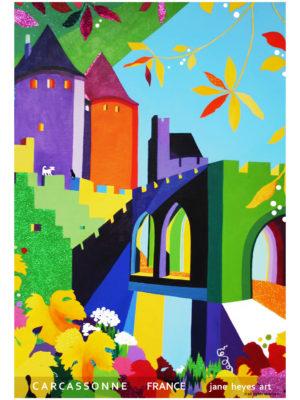 Jane Heyes Art Peintre Carcassonne Artist Autumn A4 Type final copy