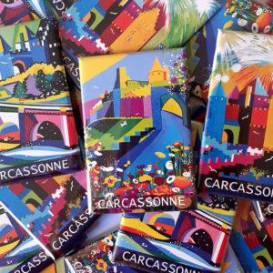 Jane Heyes Art Peintre Carcassonne Artist Magnets