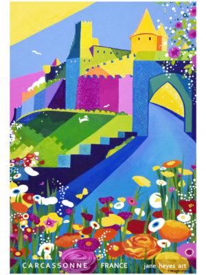 Jane Heyes Art Peintre Carcassonne Artist Spring A4 Type final copy