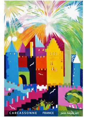 Jane Heyes Art Peintre Carcassonne Artist Summer A4 Type final copy