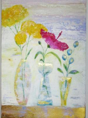 Jane Heyes Art Floral chic 100x50