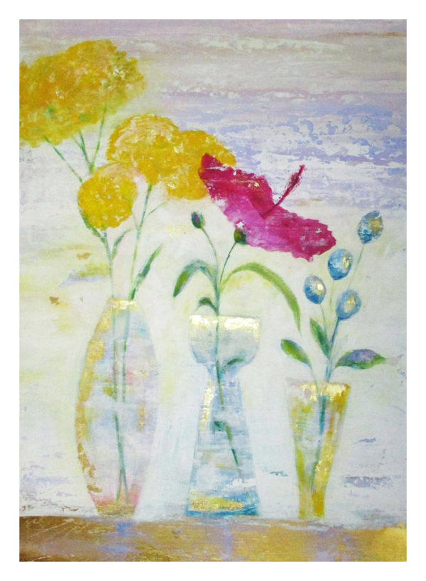 Floral chic 50x70 Print Jane Heyes Art