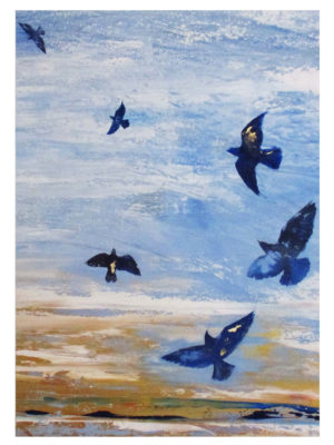 Liberty Birds Print 50x70 Print Jane Heyes Art