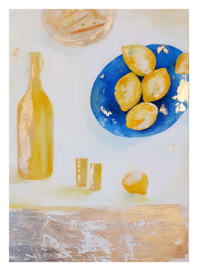 Limoncello Print Jane Heyes Art