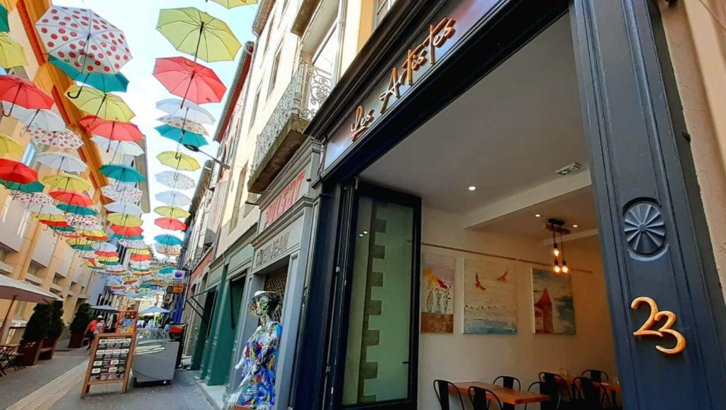 Jane Heyes Art at Les Artistes Carcassonne